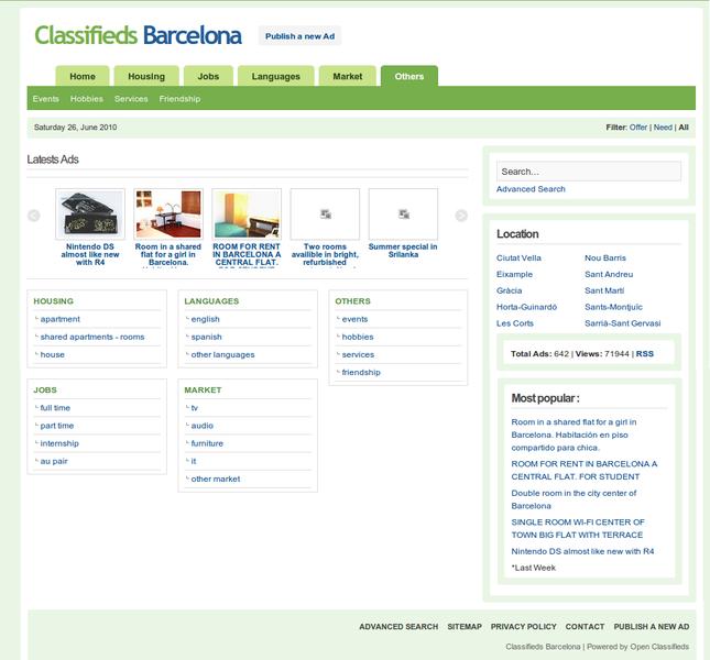 Open Classifieds